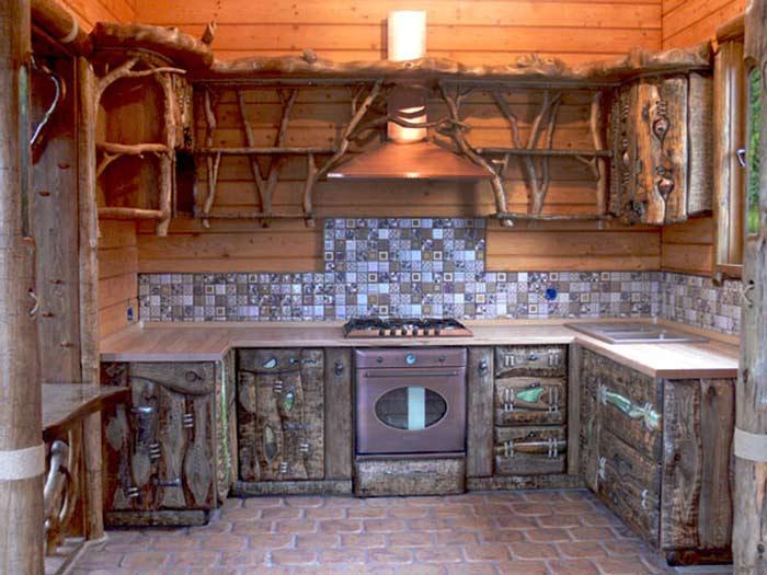 Дачная мебель кухня своими руками